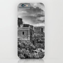 thunderstorm in Mani Greece iPhone Case