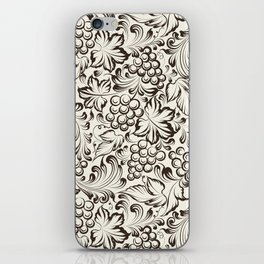 Vine seamless background iPhone Skin