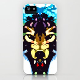 Wolf Icon 01 iPhone Case