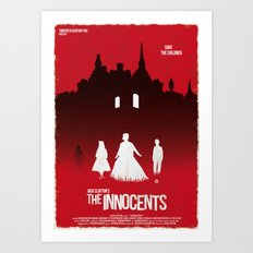 The Innocents (Red Collection) Art Print
