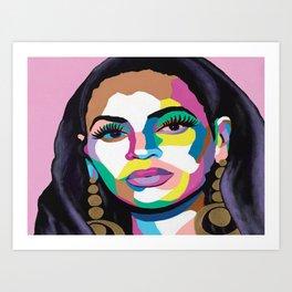 Hail The Queen Canvas Print Art Print