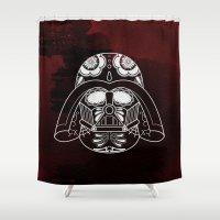 darth vader Shower Curtains featuring Darth Vader by vrdgrs