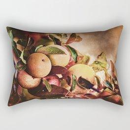 Fall Apples  Rectangular Pillow