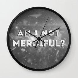 Illuminae - Am I Not Merciful? Wall Clock