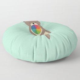 Sweet Otter Floor Pillow