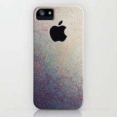 Purple Grunge Apple iPhone (5, 5s) Slim Case