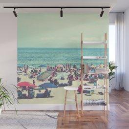 Beach Day on Long Island Wall Mural