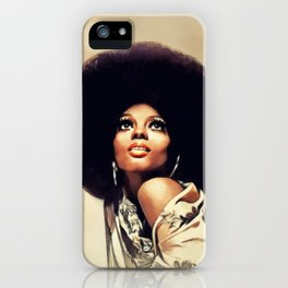 Diana Ross, Music Legend iPhone Case