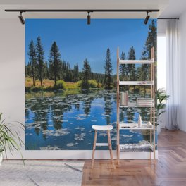By The Lake Wall Mural