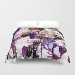 Purple evening Duvet Cover