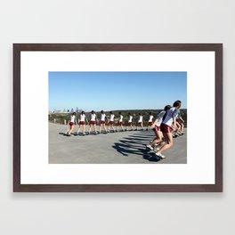 Ripstick Austin Framed Art Print