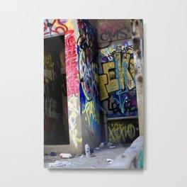 Abandoned. Metal Print