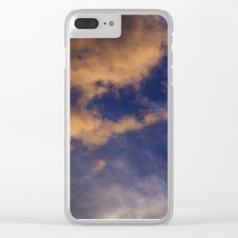 summer sunset Clear iPhone Case