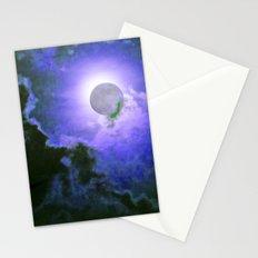 Summer Full Moon Stationery Cards
