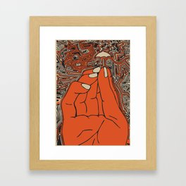 Hold my Umbrella - Fig. a. Framed Art Print