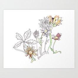 Garden air Art Print