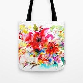 Watercolor garden II Tote Bag