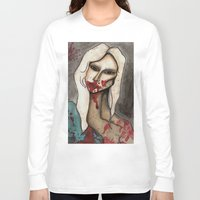 hayley williams Long Sleeve T-shirts featuring The Countess // For Hayley by Bloodelf