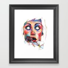 Never complete Framed Art Print