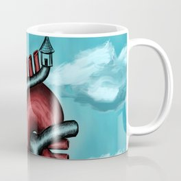 The world is forming in front of you Coffee Mug