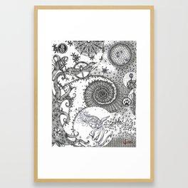 TRANSFORMING KIMMY Framed Art Print