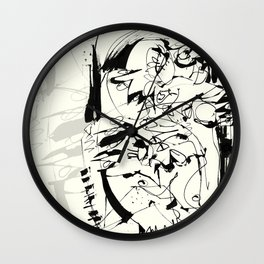 Ups and Downs Wall Clock