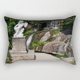 Sculpture in the park Rectangular Pillow
