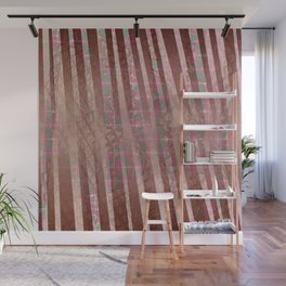 Flowers and lines S12 Wall Mural