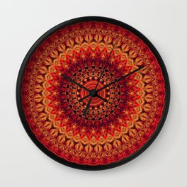 Mandala 261 Wall Clock