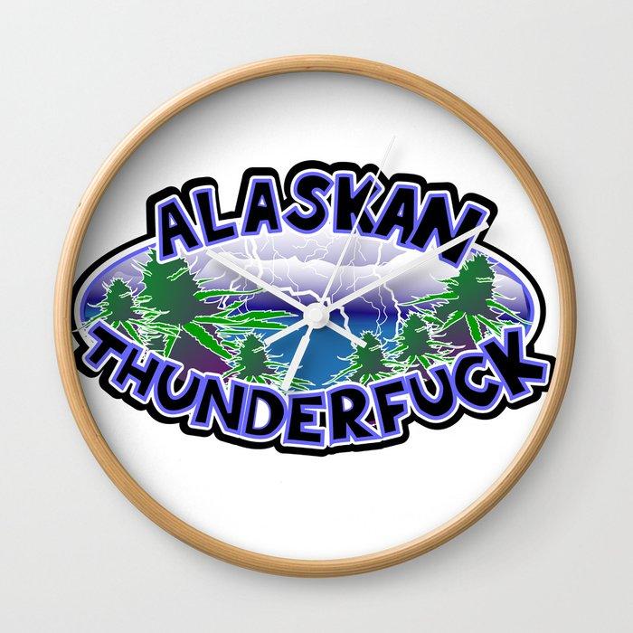 Alaskan Thunderfuck Wall Clock