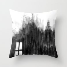 window shadow Throw Pillow