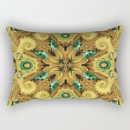 Thorny Abstract Rectangular Pillow