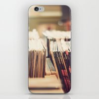vinyl iPhone & iPod Skins featuring vinyl by Molly Peach