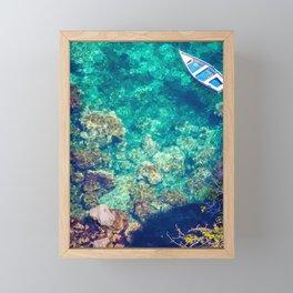 Under the italian sea Framed Mini Art Print
