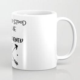 Strength Bible Verse Typography Coffee Mug