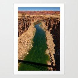 Colorado_River, Marble_Canyon-4, Arizona Art Print