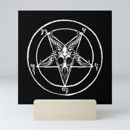 Sigil of Baphomet Black Mini Art Print