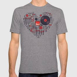 Music in every heartbeat T-shirt