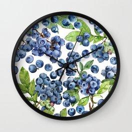 Blueberry Wall Clock