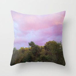 Under Violet Skies Throw Pillow