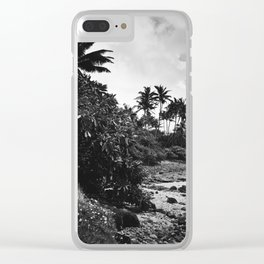 Aloha Maui Hawaii Clear iPhone Case