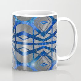 Glow Flow Feng Shui Water Element Pattern Coffee Mug