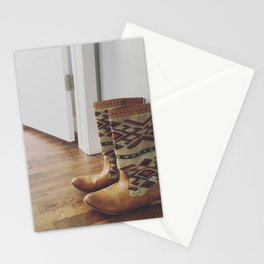 Boots are Made for Walkin' Stationery Cards