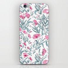 Nerium Oleander Pattern iPhone & iPod Skin