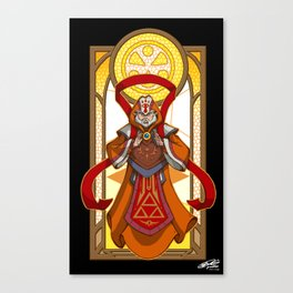 Sage of Light Canvas Print