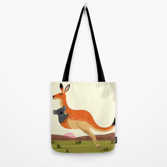 The Kangaroo and The Koala Tote Bag