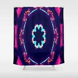 Kaleidoflow Shower Curtain