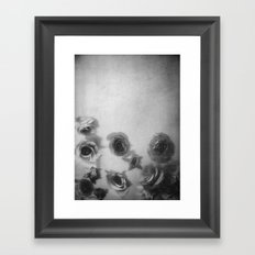 Falling Flowers Variation I Framed Art Print