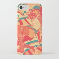 dragon age iPhone & iPod Cases featuring Dragon Age: Isabela by Sara Cuervo