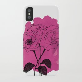 spray roses iPhone Case